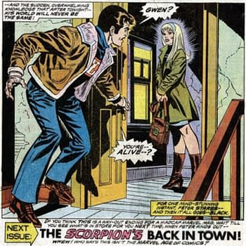 Peter Parkers Original Response to the Return of Gwen Stacy