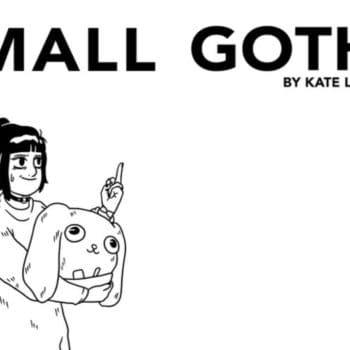 Kate Leth's First Graphic Novel, Mall Goth, from Simon & Schuster