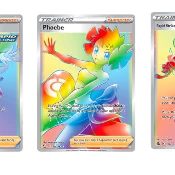 Secret Rare Cards of Pokémon TCG: Battle Styles Part 5