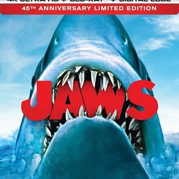 Giveaway: Jaws 45th Anniversary 4K Ultra HD Blu-Ray