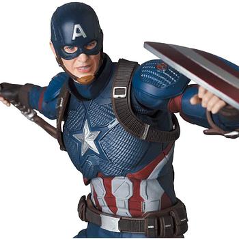 Captain America Wields Mjolnir in Newest MAFEX Figure