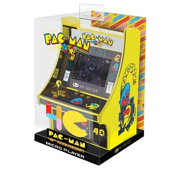 My Arcade Celebrates Pac-Mans 40th With Golden Micro Player