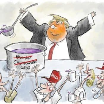 The CBLDF Beats Donald Trump Campaign Over MAGA Cartoon