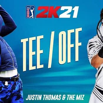 Justin Thomas &#038 The Miz Talk Shop About PGA Tour 2K21