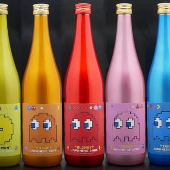 Pac-Man Will Be Getting Special Sake Bottles For 40th Anniversary