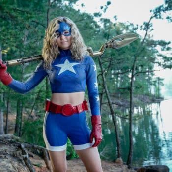Brec Bassinger as Courtney Whitmore/Stargirl on Stargirl, courtesy of The CW.