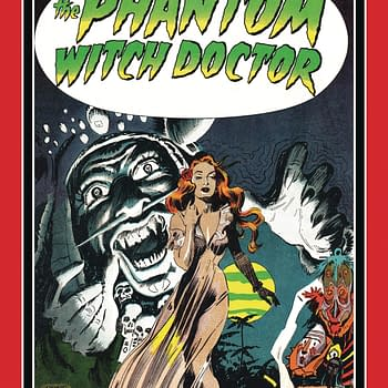 The cover of The Phantom Witch Doctor.