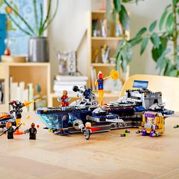 New Avengers LEGO Set Lets You Build Your Own the SHIELD Helicarrier