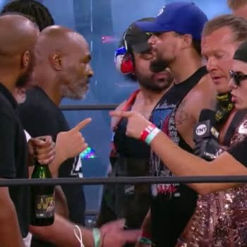 Yeah, that happened on AEW Dynamite.