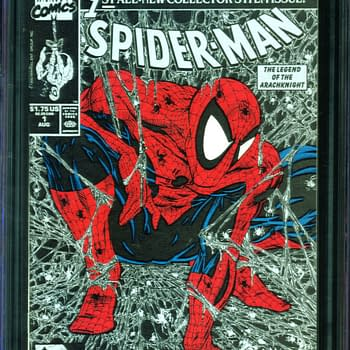 Todd McFarlane Iconic Spider-Man #1 CGC 9.8 Auction At ComicConnect