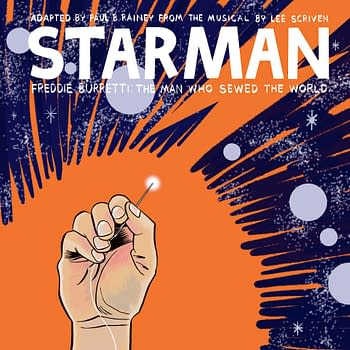 The Making of David Bowies Starman in Comic Book Form