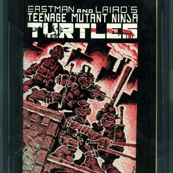 A Nice Copy Of TMNT #1 Is Up For Auction Today On ComicConnect
