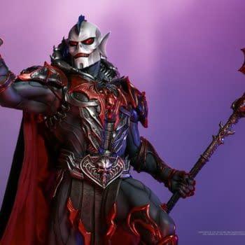MOTU Villain Hordak Maquette Coming From Tweeterhead