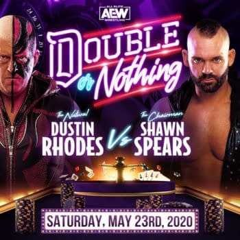 Shawn Spears vs. Dustin Rhodes - AEW Double or Nothing Results (image: AEW)