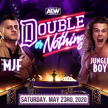 MJF Vs Jungle Boy: AEW Double or Nothing Results