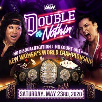AEW Double or Nothing Women's Title Match Finds Hikaru Shida Vs. Nyla Rose (image: AEW)