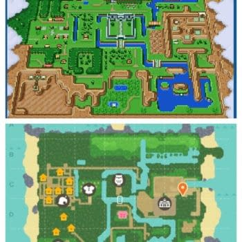 Animal Crossing Link To The Past Map