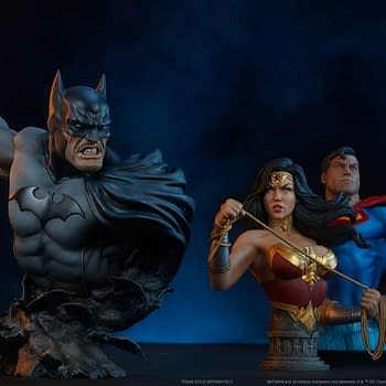 Batman Takes on the Night with New Bust from Sideshow Collectibles
