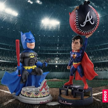 FOCO Announces MLB Bobbleheads Featuring Batman and Superman
