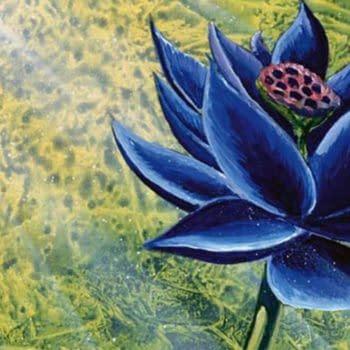 Black Lotus art mtg