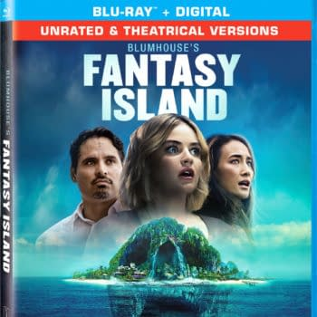 Blumhouse's Fantasy Island Blu-ray cover. Credit Sony Pictures