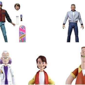 Back to the Future NECA Collage