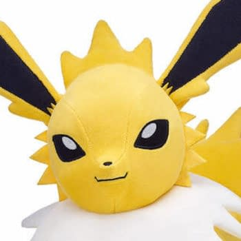 Jolteon plushes are coming to Build-A-Bear Workshop.