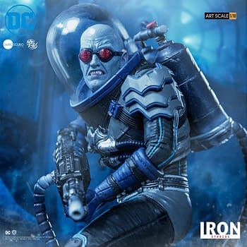 Mr. Freeze Chills Out with New Iron Studios Statue