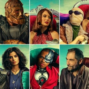 A look at Doom Patrol for season 2, courtesy of DC Universe
