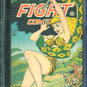 Jungle Girl Cover History Can be Yours With Fight Comics #49