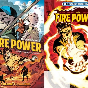 Image Comics Free Comic Book Day Title Fire Power Wont Wait