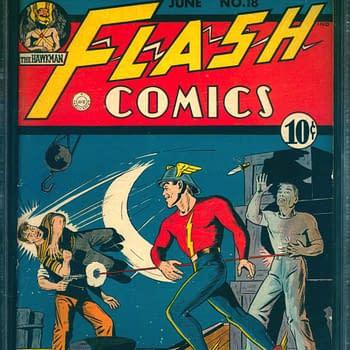 Flash Comics 18, 6/1941, DC Comics.