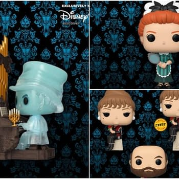 New Funko Haunted Mansion Disney POPs Revealed