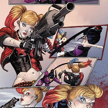 Retailer Custom Covers For Harley Quinn #75 Punchline and Joker War