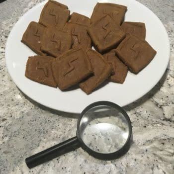 Homemade Scooby Snacks, image courtesy of Eden Arnold.