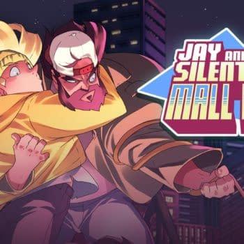 Jay and Silent Bob Mall Brawl Poster