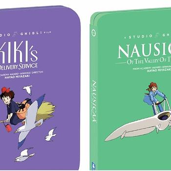 Studio Ghibli Films Kikis &#038 Nausicaa Get Steelbooks From Shout GKIDS