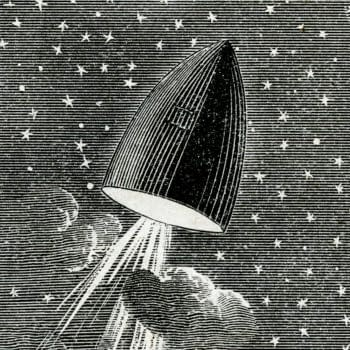 The First Manned Space Mission on America's Newsstands