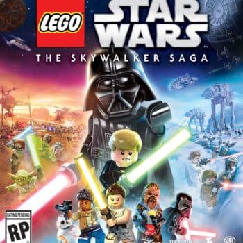 LEGO Star Wars The Skywalker Saga Main Art