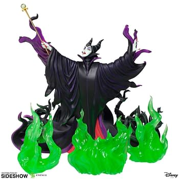 Maleficent Summons Evil in Her Newest Enesco Disney Statue