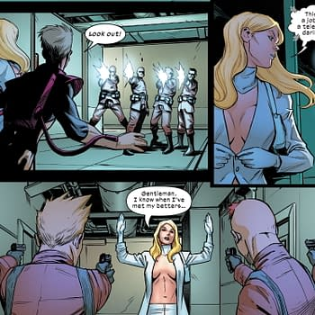 Emma Frost Has Own Weapons Of Mass Destruction in Marauders #10