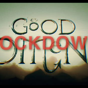 Good Omens: Lockdown: Neil Gaiman David Tennant Michael Sheen Return
