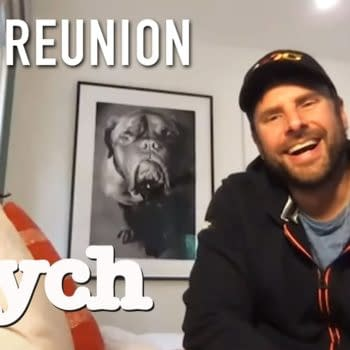 Psych Cast Reunites To Talk Classic Moments | on USA Network