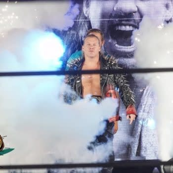 AEW FANS SING JUDAS AS LE CHAMPION MAKES HIS WAY TO THE RING   AEW DYNAMITE JERICHO CRUISE EDITION