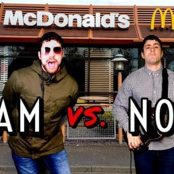 Joe Hendry's McDonalds-themed Oasis cover has racked up views all over social media.