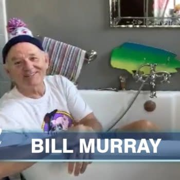Bill Murray is set to take on Guy Fieri this Friday, courtesy of Food Network Facebook.