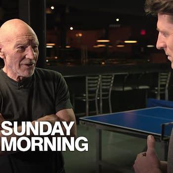 Star Trek: Patrick Stewart On TNG Filming Akiva Goldsman On Season 2