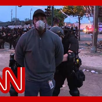 CNN Reporter Omar Jimenez Camera Crew Arrested Live On Air