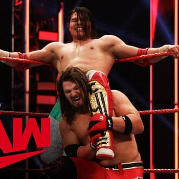 WWE Monday Night RAW Delivered Action Drama and AJ Styles