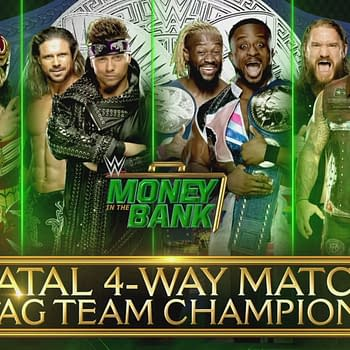 WWE SmackDown Fatal 4-Way Tag Team Championship at Money in the Bank